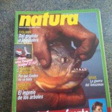 Coleccionismo de Revistas y Periódicos: REVISTA NATURA -- Nº 65 - AGOSTO 1988 --. Lote 179225807