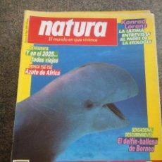 Coleccionismo de Revistas y Periódicos: REVISTA NATURA -- Nº 74 - MAYO 1989 --. Lote 179225575