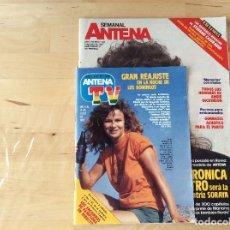 Coleccionismo de Revistas y Periódicos: SEMANAL ANTENA. Lote 100244979