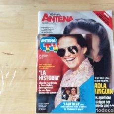 Coleccionismo de Revistas y Periódicos: SEMANAL ANTENA. Lote 100245067