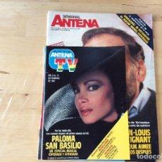 Coleccionismo de Revistas y Periódicos: SEMANAL ANTENA. Lote 100245143