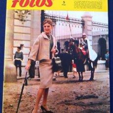 Coleccionismo de Revistas y Periódicos: REVISTA FOTOS, NÚM, 1.187,AÑO XXII, 28 DE NOVIEMBRE 1959. MODA OTOÑO. SEMANARIO GRÁFICO.. Lote 100252615