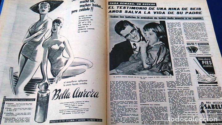 Coleccionismo de Revistas y Periódicos: Revista FOTOS, Núm, 1.219,Año XXIII, 9 de julio 1960. Verano estampado. Semanario gráfico. - Foto 5 - 100253319