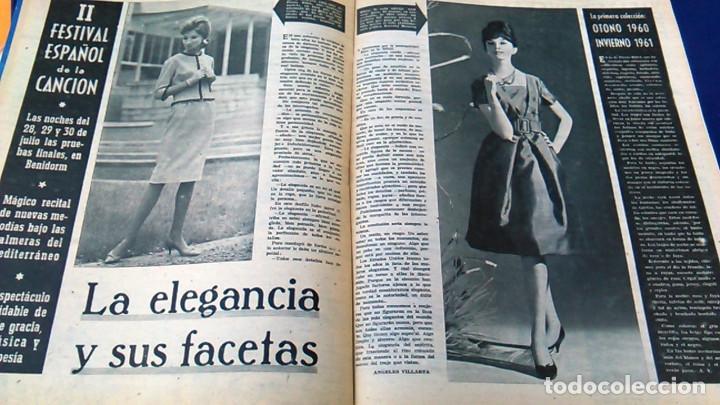 Coleccionismo de Revistas y Periódicos: Revista FOTOS, Núm, 1.219,Año XXIII, 9 de julio 1960. Verano estampado. Semanario gráfico. - Foto 7 - 100253319