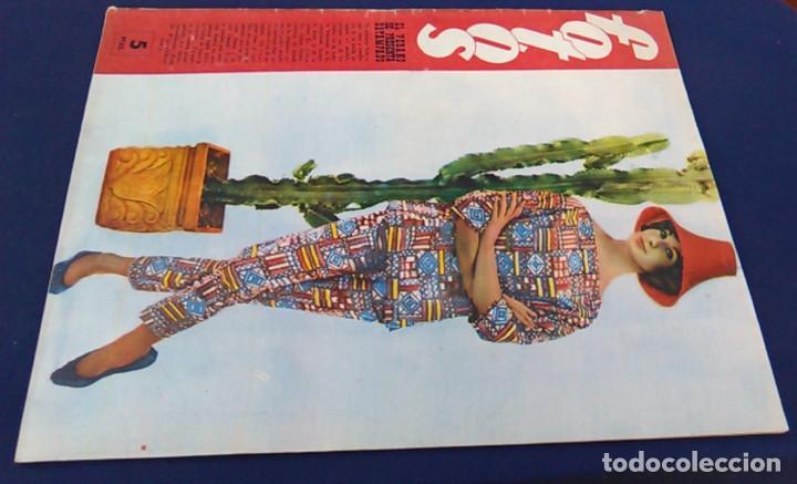 Coleccionismo de Revistas y Periódicos: Revista FOTOS, Núm, 1.219,Año XXIII, 9 de julio 1960. Verano estampado. Semanario gráfico. - Foto 14 - 100253319