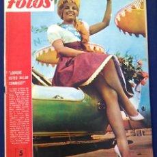 Coleccionismo de Revistas y Periódicos: REVISTA FOTOS, NÚM, 1.221,AÑO XXIII, 23 DE JULIO 1960. SEMANARIO GRÁFICO. JOHN F. KENNEDY.. Lote 100254103