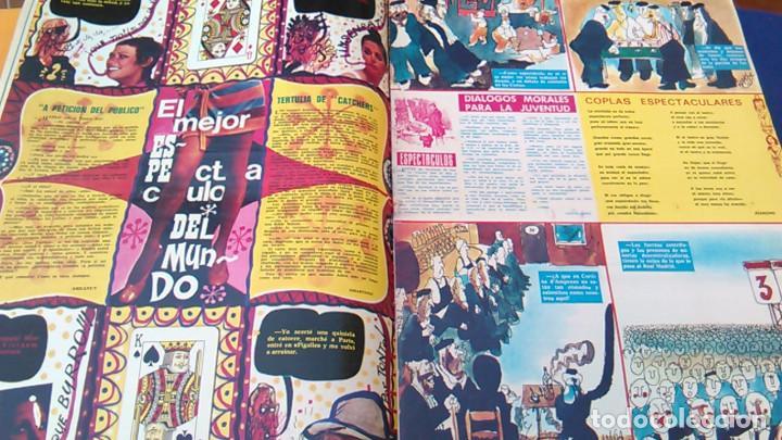 Coleccionismo de Revistas y Periódicos: Revista de humor La Codorniz, 10 mayo 1970, Año XXX,Nº 1486. Extra del espectáculo. Prensa. 1.486. - Foto 2 - 100265183