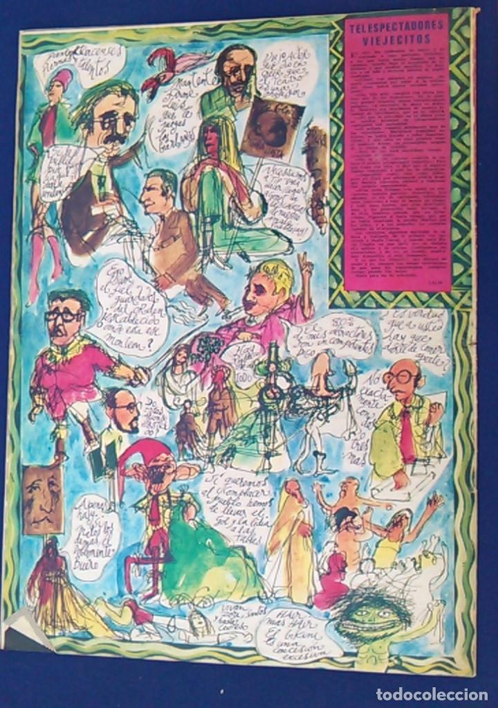 Coleccionismo de Revistas y Periódicos: Revista de humor La Codorniz, 10 mayo 1970, Año XXX,Nº 1486. Extra del espectáculo. Prensa. 1.486. - Foto 5 - 100265183