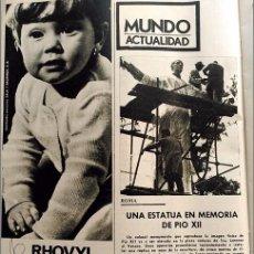 Coleccionismo de Revistas y Periódicos - anuncio 1966 rhovyl pio xii papa - 100284135