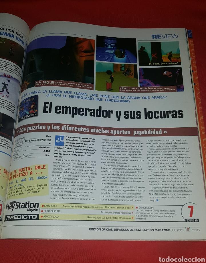 Coleccionismo de Revistas y Periódicos: Revista PlayStation Magazine N° 55 - Foto 3 - 100339007