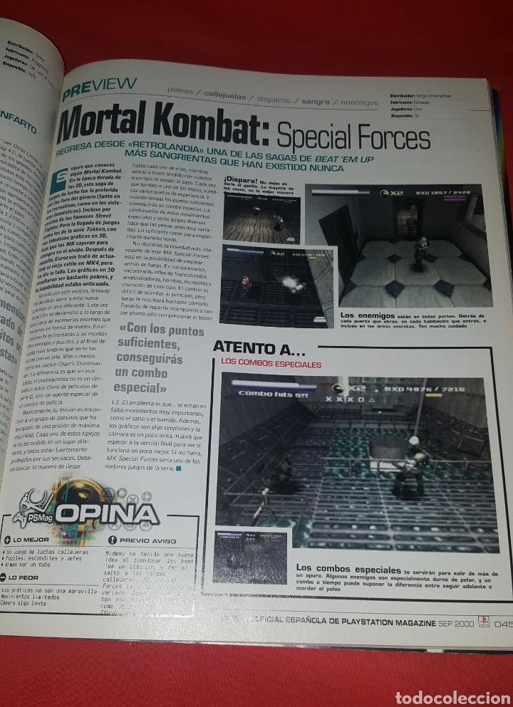 Coleccionismo de Revistas y Periódicos: Revista PlayStation Magazine N° 45 - Foto 3 - 100339228