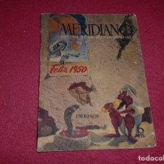 Coleccionismo de Revistas y Periódicos: MERIDIANO - ESPECIAL 1950 - LA PUBLICIDAD... DE ESCÁNDALO. Lote 100342443