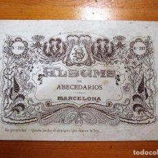 Coleccionismo de Revistas y Periódicos: ALBUM PARA BORDAR: ALBUM DE ABECEDARIOS Nº202 BRUGAROLAS SIVILLA. Lote 100346423