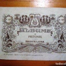 Coleccionismo de Revistas y Periódicos: ALBUM PARA BORDAR: ALBUM DE FESTONES Nº201 BRUGAROLAS SIVILLA. Lote 100348151