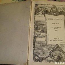 Coleccionismo de Revistas y Periódicos: LA ILUSTRACION JOURNAL UNIVERSEL TOMO LXVII 1876. Lote 100390471