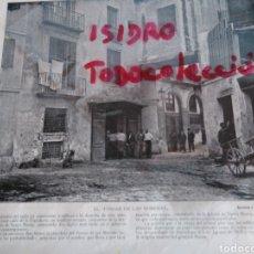 Coleccionismo de Revistas y Periódicos: 18 FOTOS DE BARCELONA .BARCELONA A LA VISTA. Lote 100514318