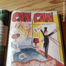 Coleccionismo de Revistas y Periódicos: CAN CAN – 6 TOMOS ENCUADERNADOS. Lote 100517227