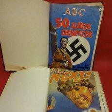 Coleccionismo de Revistas y Periódicos: ABC. LA II GUERRA MUNDIAL. LOS DOS TOMOS PUBLICADOS. Lote 100530255