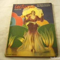 Coleccionismo de Revistas y Periódicos: REVISTA LECTURAS, FEBRERO DE 1932, Nº 129.. Lote 100575231