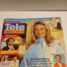 Coleccionismo de Revistas y Periódicos: REVISTA TELEINDISCRETA 1098. Lote 100595499