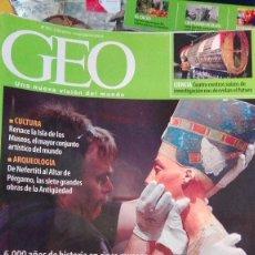 Coleccionismo de Revistas y Periódicos: 3 REVISTAS GEO. Lote 100624643