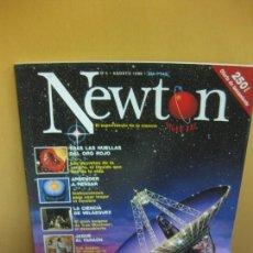 Coleccionismo de Revistas y Periódicos: REVISTA NEWTON Nº 4. AGOSTO 1998. ¿ESTAMOS SOLOS EN EL UNIVERSO?. Lote 100636663