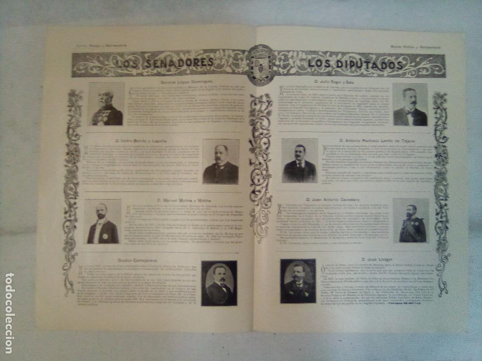 Coleccionismo de Revistas y Periódicos: Revista política y parlamentaria (5 números sueltos) (1900-1901) - Foto 6 - 100660355