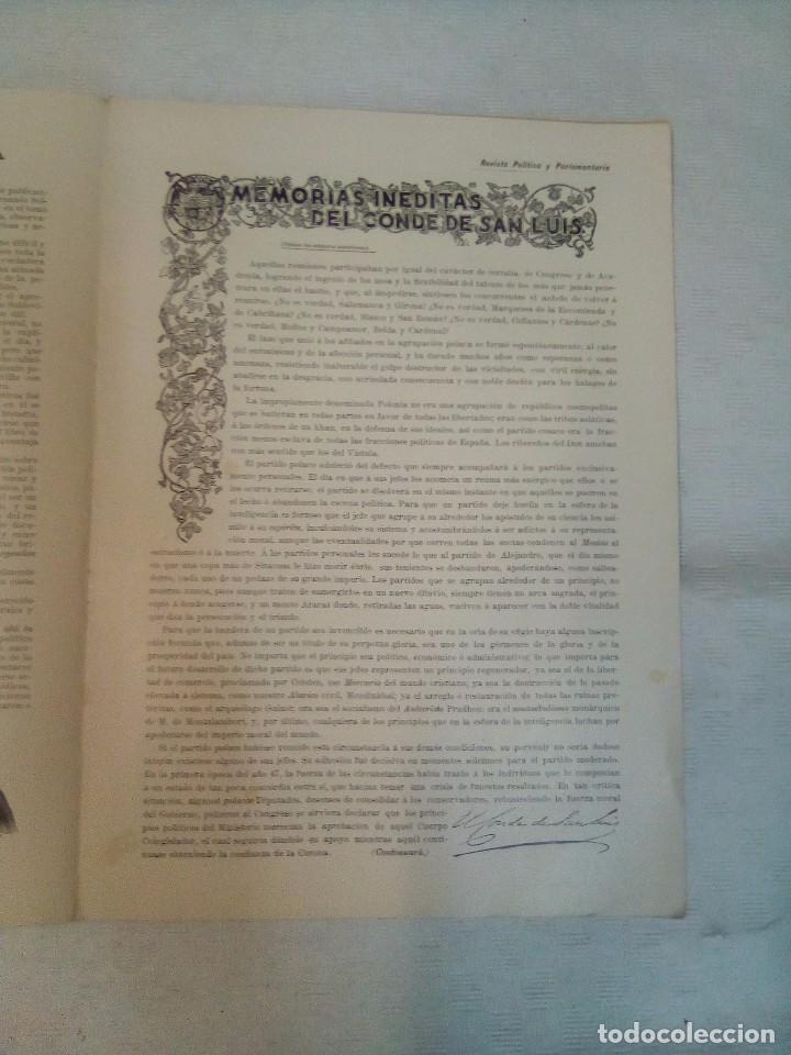 Coleccionismo de Revistas y Periódicos: Revista política y parlamentaria (5 números sueltos) (1900-1901) - Foto 8 - 100660355