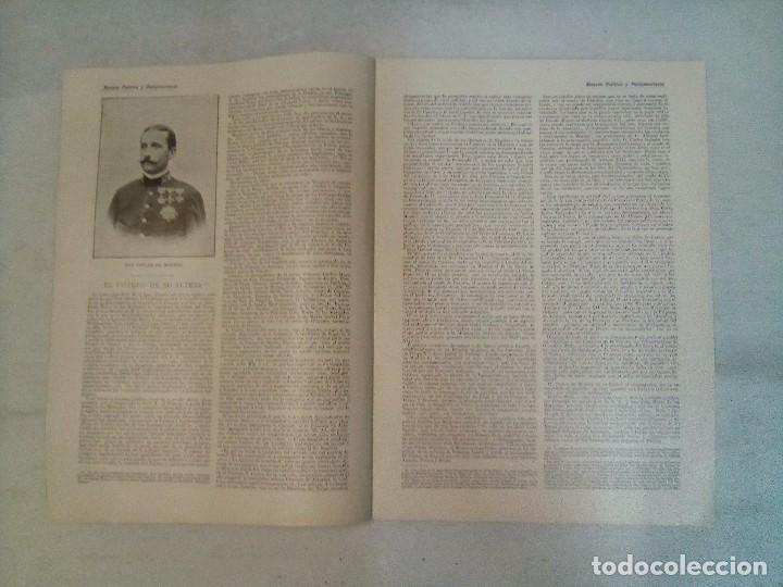 Coleccionismo de Revistas y Periódicos: Revista política y parlamentaria (5 números sueltos) (1900-1901) - Foto 11 - 100660355