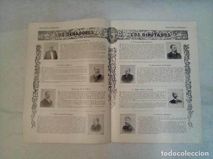 Coleccionismo de Revistas y Periódicos: Revista política y parlamentaria (5 números sueltos) (1900-1901) - Foto 12 - 100660355