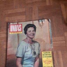 Coleccionismo de Revistas y Periódicos: REVISTA ONDAS DE 1964. Lote 100971787