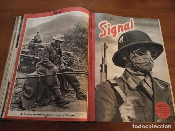 SIGNAL - AÑO 1941 / 1942 (Coleccionismo - Revistas y Periódicos Modernos (a partir de 1.940) - Otros)