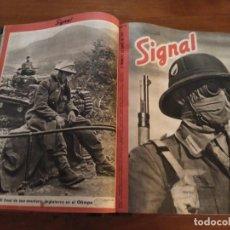 Coleccionismo de Revistas y Periódicos: SIGNAL - AÑO 1941 / 1942. Lote 101016299