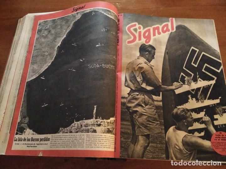 Coleccionismo de Revistas y Periódicos: SIGNAL - AÑO 1941 / 1942 - Foto 2 - 101016299