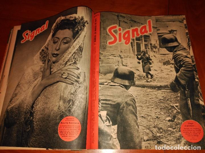 Coleccionismo de Revistas y Periódicos: SIGNAL - AÑO 1941 / 1942 - Foto 3 - 101016299