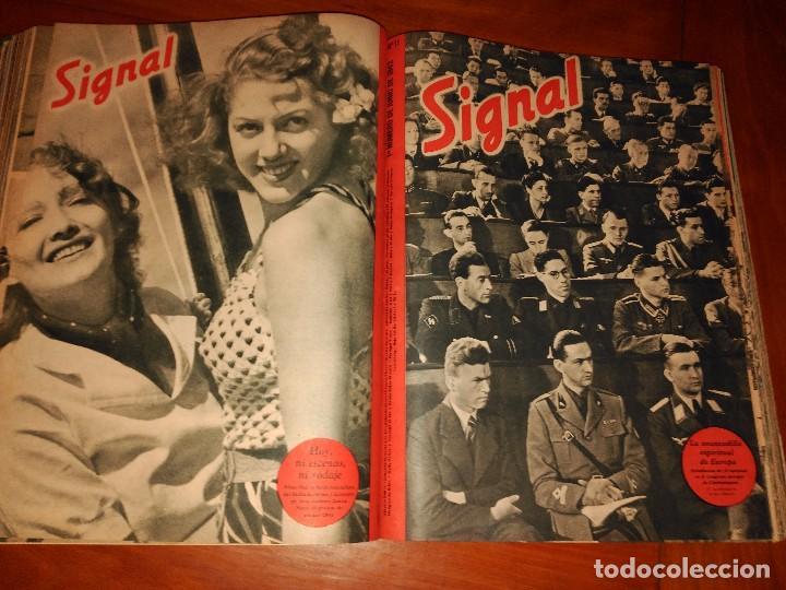 Coleccionismo de Revistas y Periódicos: SIGNAL - AÑO 1941 / 1942 - Foto 4 - 101016299
