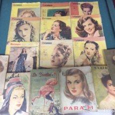 Coleccionismo de Revistas y Periódicos: LOTE REVISTAS ANTIGUAS. Lote 101060467