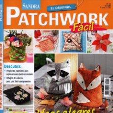 Coleccionismo de Revistas y Periódicos: SANDRA PATCHWORK N. 19 - EN PORTADA: IDEAS ALEGRES (NUEVA). Lote 175545962