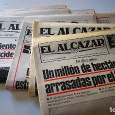 Coleccionismo de Revistas y Periódicos: EL ALCAZAR 5 PERIODICOS 13-08/10-08/06-08/05-08/31-07 DE 1986. Lote 101261963