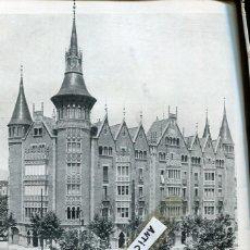 Coleccionismo de Revistas y Periódicos: REVISTA ANY 1906 CASA DE LES PUNXES TERRADES JOSEP PUIG I CADAFALCH REGATES DE SITGES . Lote 101280659