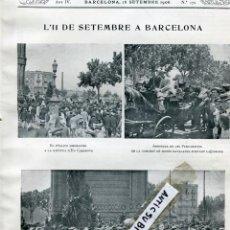 Coleccionismo de Revistas y Periódicos: REVISTA ANY 1906 11 DE SETEMBRE DIADA BEAT GIL DE FEDERICH DE TORTOSA ALMATO SANT FELIU SASSERRA . Lote 101281359
