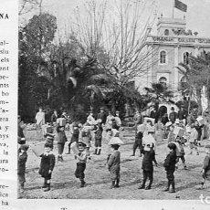 Coleccionismo de Revistas y Periódicos: REVISTA ANY 1906 ESCOLA MODERNA AL BOSC COL.LEGI SANT JORDI GRANJA ESCOLAR SANTA COLOMA DE FARNERS. Lote 101281927