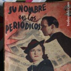 Coleccionismo de Revistas y Periódicos - EDICIONES BISTAGNE SU NOMBRE EN LOS PERIODICOS MARGARET LOCKWOOD NOVELA CINE - 101351303