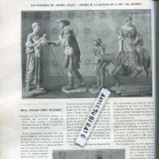 Coleccionismo de Revistas y Periódicos: REVISTA AÑO 1906 METRO DE LONDRES FIGURAS DE PESEBRE PESSEBRE AMADEU DE OLOT BULBENA SALVADOR BORDAS. Lote 101369863