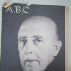 Coleccionismo de Revistas y Periódicos: ABC. FRANCO HA MUERTO.. Lote 101378799