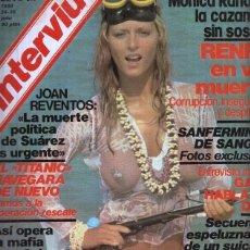 Coleccionismo de Revistas y Periódicos: INTERVIU NUMERO 219 - MONICA. Lote 101394906