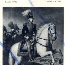 Coleccionismo de Revistas y Periódicos: PRIM GENERAL REUS 1934 LAMINA HOJA LIBRO. Lote 101676975
