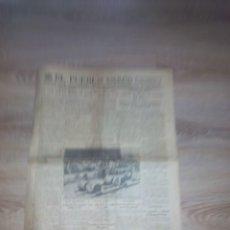 Coleccionismo de Revistas y Periódicos: EL PUEBLO VASCO DOMINGO 20 JULIO 1935 / PERIODICO SAN SEBASTIAN. Lote 101692207