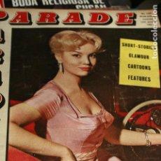 Coleccionismo de Revistas y Periódicos: REVISTA EORTICA INGLESA PARADE MYLENE DEMONGEOT ENERO 1963. Lote 101707947