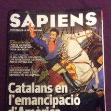 Coleccionismo de Revistas y Periódicos: SAPIENS N- 146. CATALANS EN L'EMANCIPACIO D'AMERICA. Lote 101715387